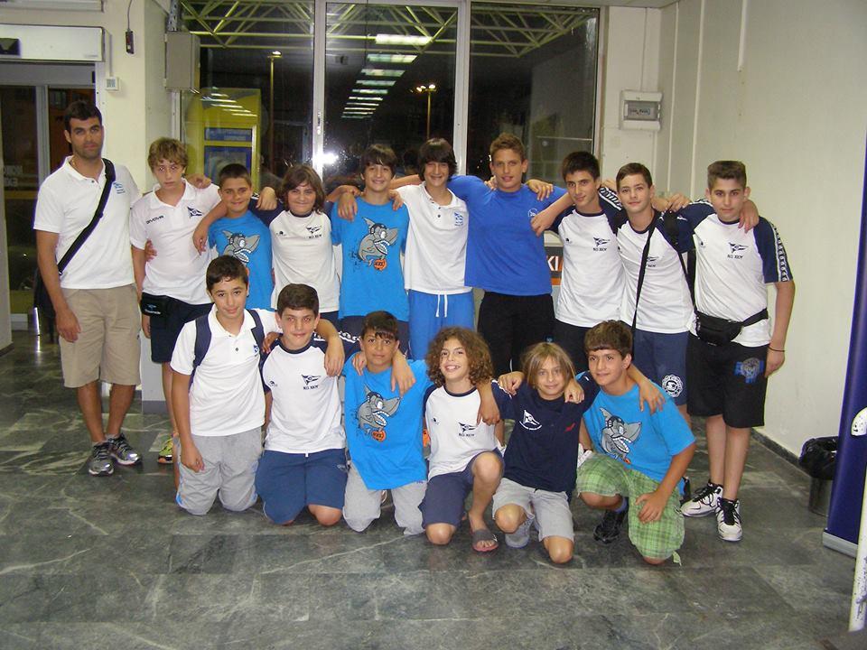 Ομάδα Πόλο Μίνι Παίδων ΝΟΧ 2013-14