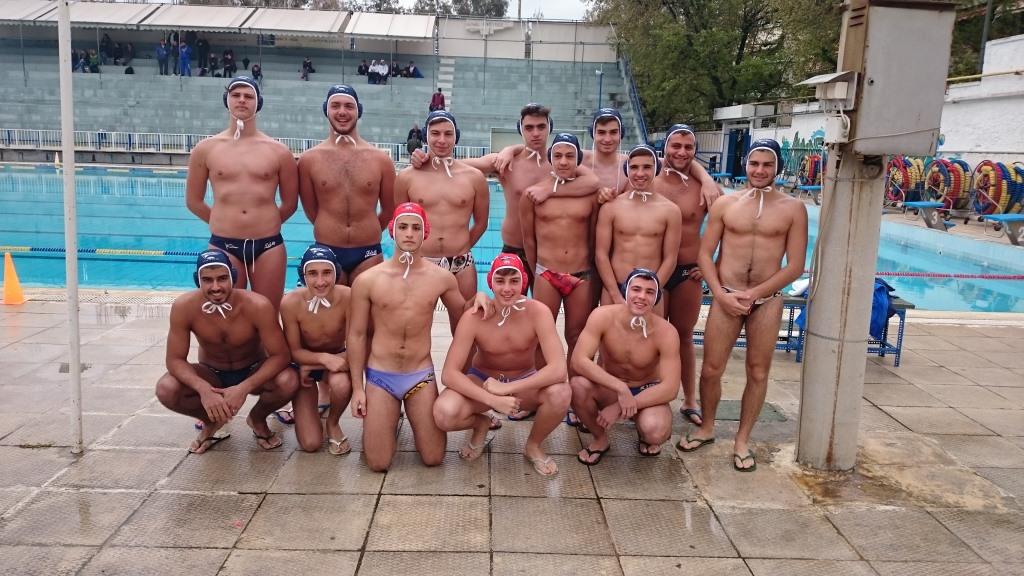 Ομάδα Πόλο Εφήβων ΝΟΧ 2014-15